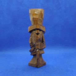 The Old Man - hand carved wooden Victorian with top hat and cane