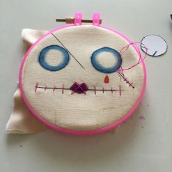 PrickelsandSpike Bell Doll, OOAK Doll, Gift, Home Decor, Keepsake, 7