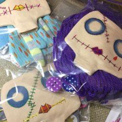 PrickelsandSpike Bell Doll, OOAK Doll, Gift, Home Decor, Keepsake, 9