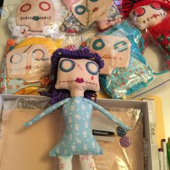 PrickelsandSpike Bell Doll, OOAK Doll, Gift, Home Decor, Keepsake, 10