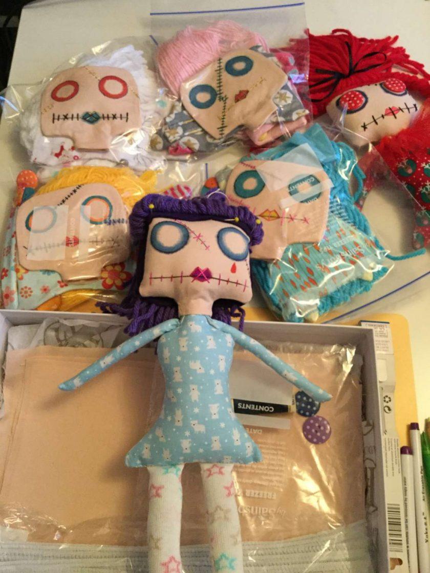 PrickelsandSpike Bell Doll, OOAK Doll, Gift, Home Decor, Keepsake,