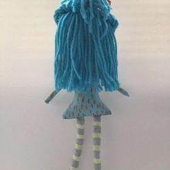 PrickelsandSpike Bell Doll, OOAK Doll, Gift, Home Decor, Keepsake, 5