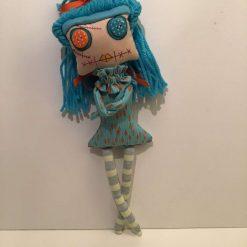 PrickelsandSpike Bell Doll, OOAK Doll, Gift, Home Decor, Keepsake, 1