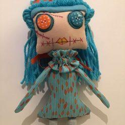 PrickelsandSpike Bell Doll, OOAK Doll, Gift, Home Decor, Keepsake, 2