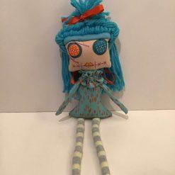 PrickelsandSpike Bell Doll, OOAK Doll, Gift, Home Decor, Keepsake, 3