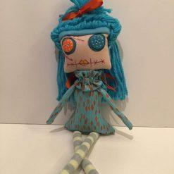 PrickelsandSpike Bell Doll, OOAK Doll, Gift, Home Decor, Keepsake, 4
