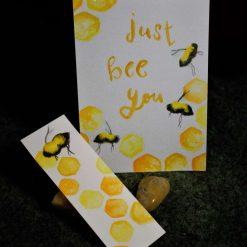 Watercolour Bee set