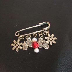 Brooches - Christmas Kilt Pin Brooch