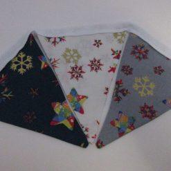 Christmas Tree Skirt (Snowflakes)