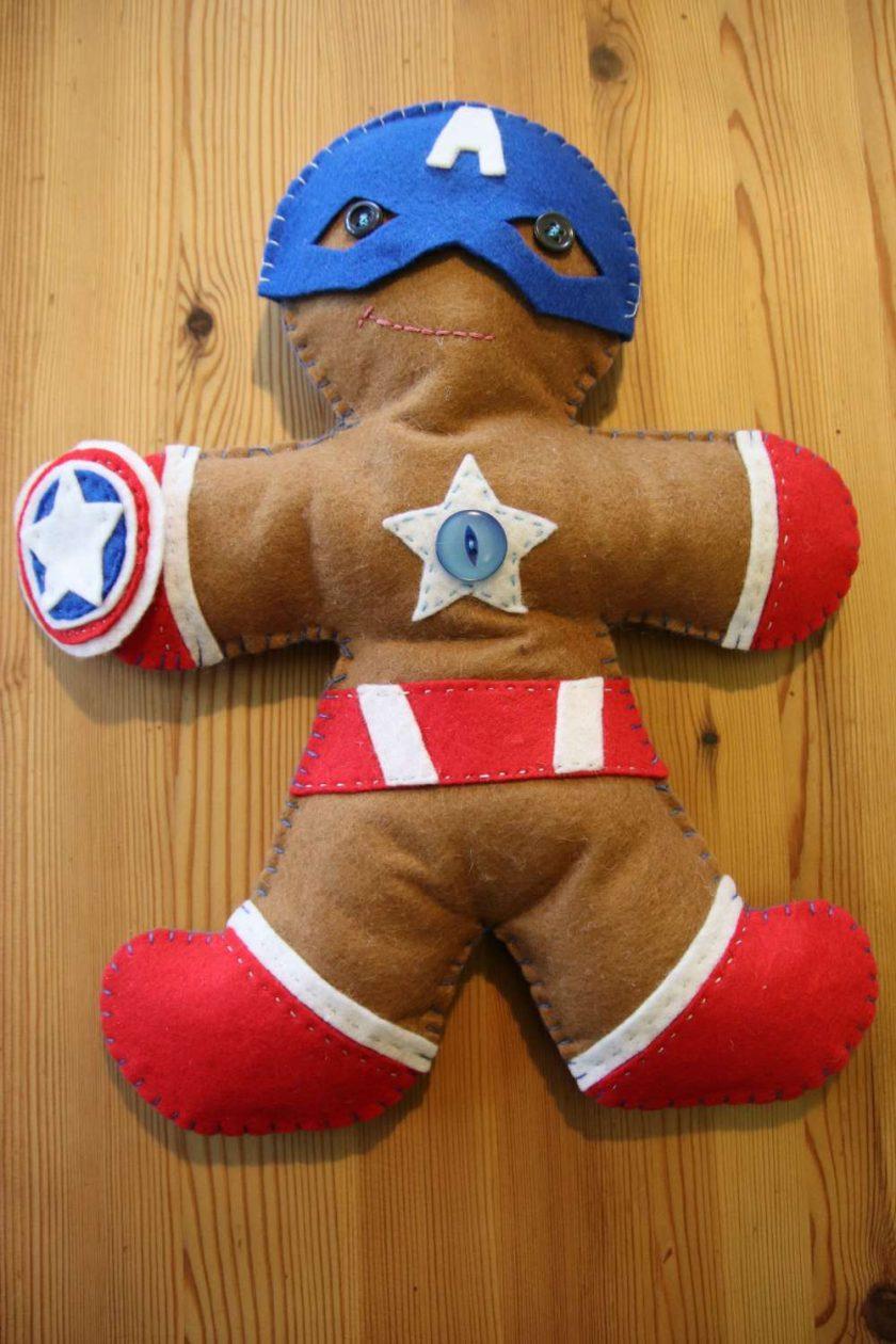 Felt Super Hero Cuddle Toy 1