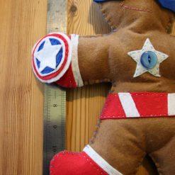 Felt Super Hero Cuddle Toy 4