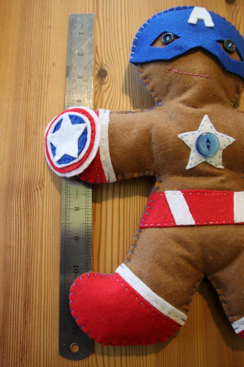 Felt Super Hero Cuddle Toy 2