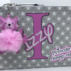 Gorgeous design - personalised- storage suitcases in small, medium or large size