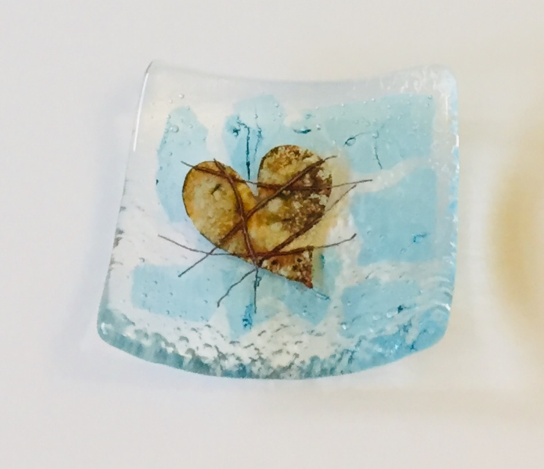 Fused Glass Ring Dish