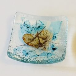 Fused Glass Ring Dish 3