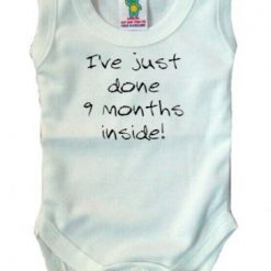 Baby Vest with your own wording