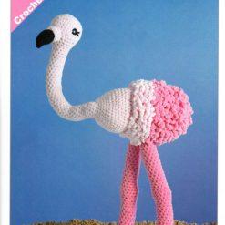 James C Brett - Crochet Pattern - Flo the Flamingo