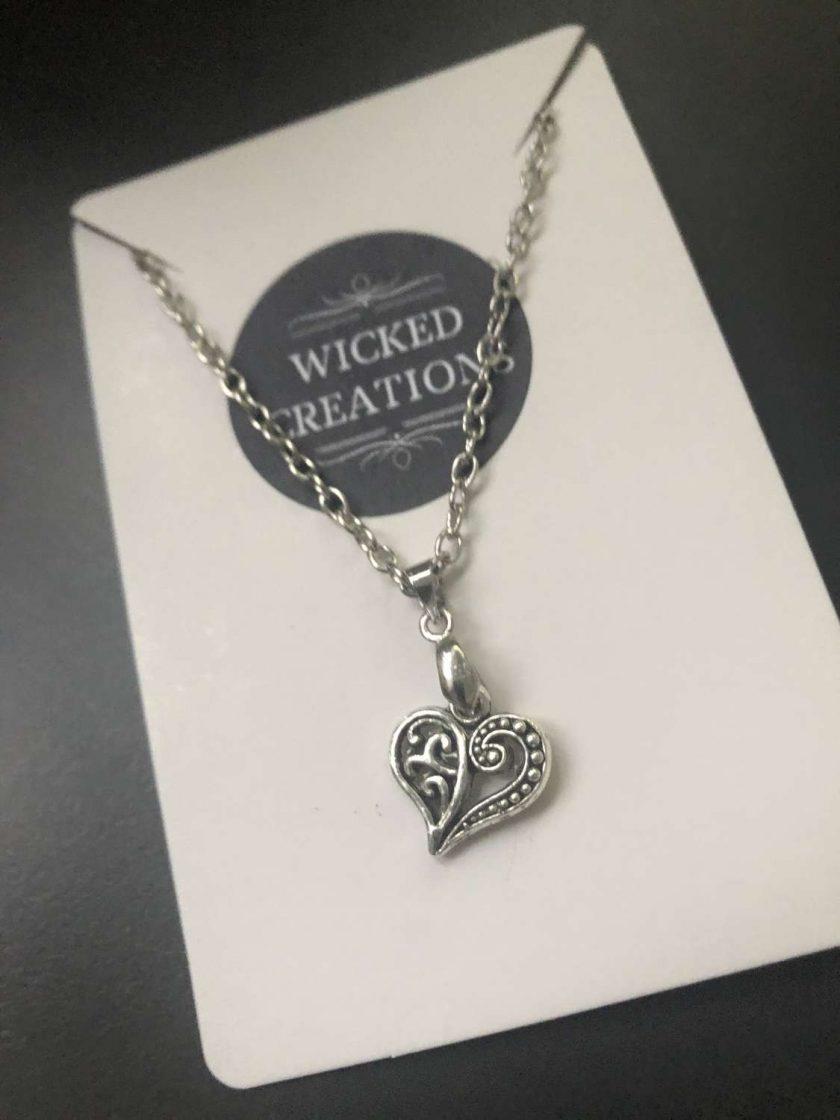 Filigree Heart Necklace 1
