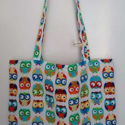 Adorable owls tote bag by Doulcie's Decor