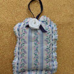 White rose lavender sachet