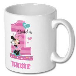 Birthday Personalised Chocolate Mug 10oz