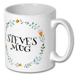 Christmas Gift Idea - Personalised Coffee Mug 10oz
