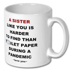 Coffee Mug for Sister 10 oz - Personalised