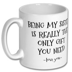 Coffee Mug for Sister 10oz - Personalised 5