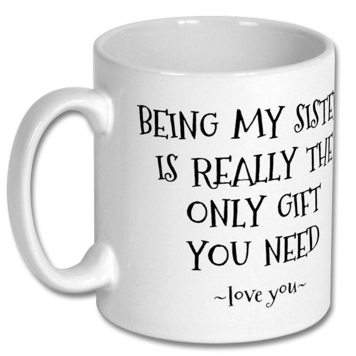Coffee Mug for Sister 10oz - Personalised 3