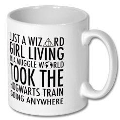 Christmas Gift - Harry Potter Wizard Girl Coffee Mug 10oz