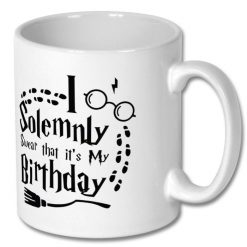 Birthday Gift Harry Potter Coffee Mug 10oz