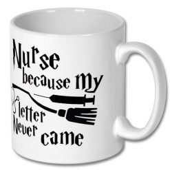 Christmas Coffee Gift Mug for Nurse