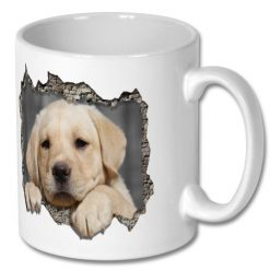 Ceramic Coffee Gift Mug - for Puppy Dog Owner