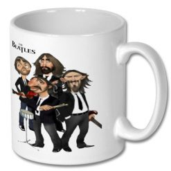 Ceramic Coffee Gift Mug - The Beatles
