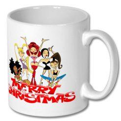 Christmas Coffee Gift Mug 10 oz - Spice Girl