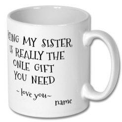 Affordable Personalised Coffee Mug 10oz