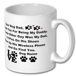 Christmas Coffee Gift Mug - Personalised for Dog Owner
