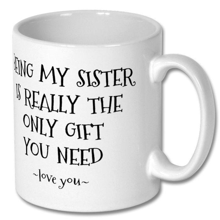 Coffee Mug for Sister 10oz - Personalised 1