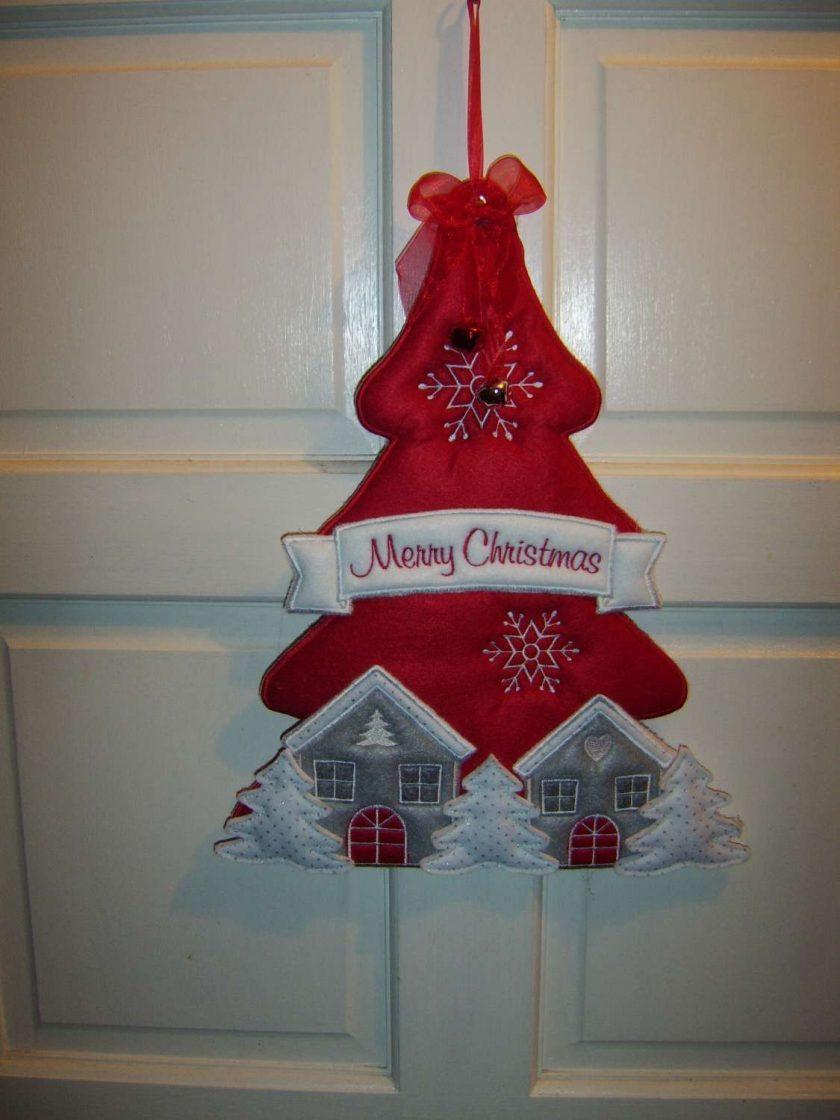 Christmas tree hanger 1