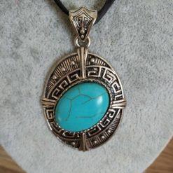 Jewellery: Turquoise pendant 3