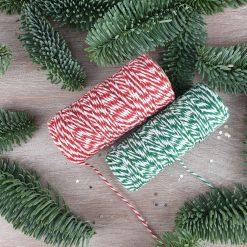 "Handcrafted Ceramic ""Traditional Trio"" Set of 3 Christmas Decorations 9"