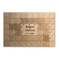 Guest Book Jigsaw Puzzle - A completely special wedding guest book to be treasured forever.