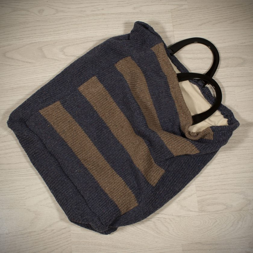 Shopping Bag made with Recycled Yarn 4