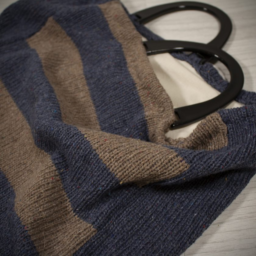 Shopping Bag made with Recycled Yarn 1
