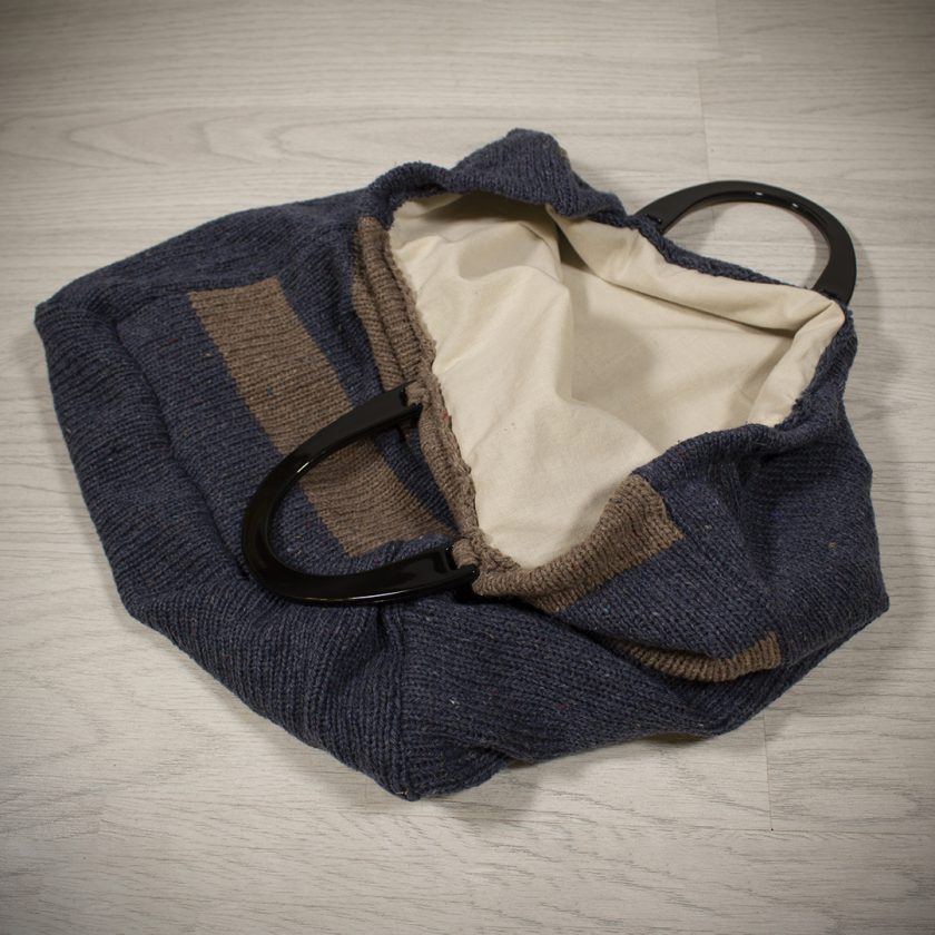 Shopping Bag made with Recycled Yarn 3
