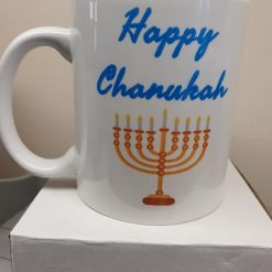 Chanukah Mug, can be personalised with any name