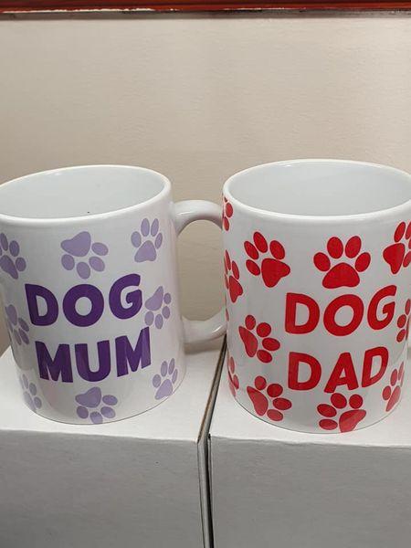 Dog Mum Mug / Dog Dad Mug 1