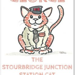 George the Stourbridge Junction Station Cat 2021 Calendar