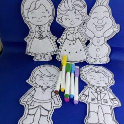 Children's Colouring Sets - Frozen