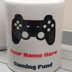 Personalised Gaming Ceramic Money box